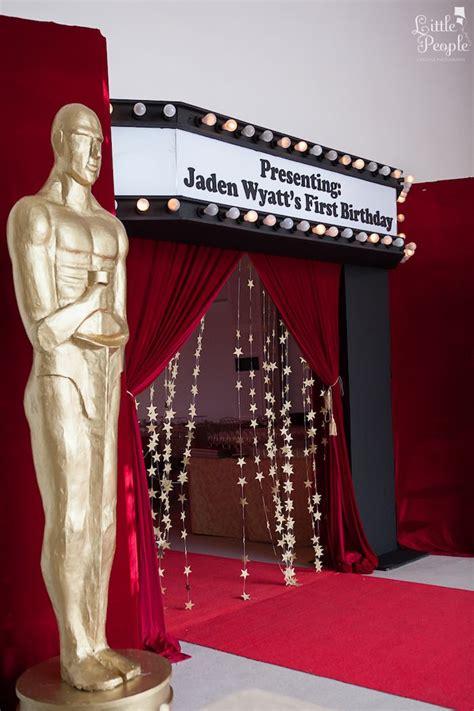 Kara's Party Ideas Hollywood + Oscars 1st Birthday Party