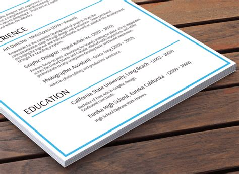 Essential Content Of A Resume by Essential Blue Resume Resume Baker