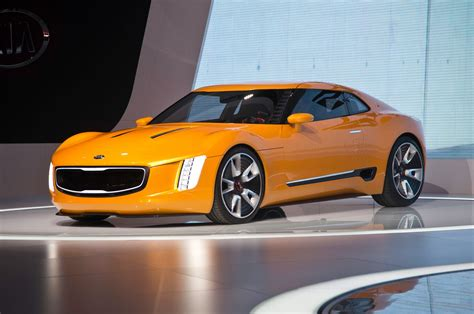 kia gt stinger concept video  detroit auto show