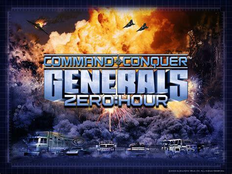 generals zero hour conquer command version previous