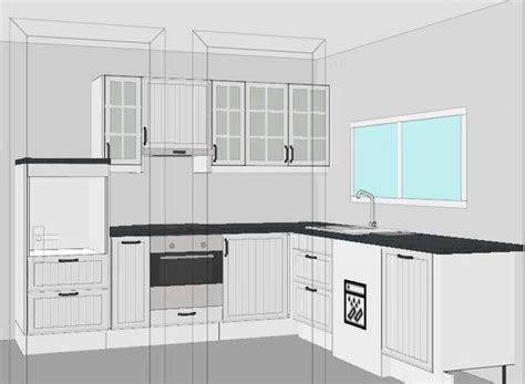 hauteur des meubles haut cuisine cuisine ikea é n 1 la conception dans la cuisine d 39 audinette