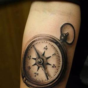 Pocket Compass Tattoo | Best tattoo design ideas
