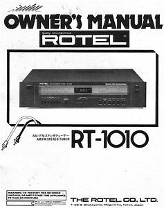Rotel Stereo System Rt