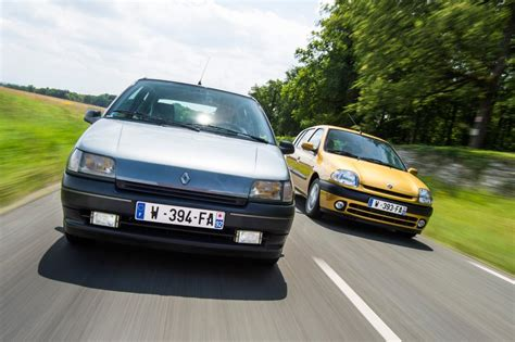 old renault clio old vs new the renault clio through four generations