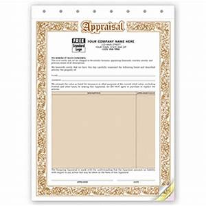 appraisal form jewelry appraisal forms 128 by deluxe With jewelry appraisal form template