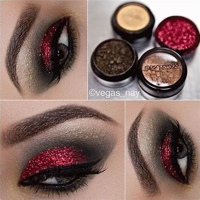 Makeup Eye Glitter Eyeshadow Shadow Looks Prom