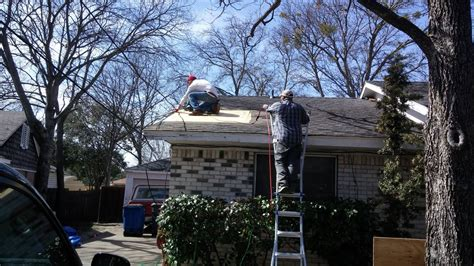 roof problems inspection  repair services  garland