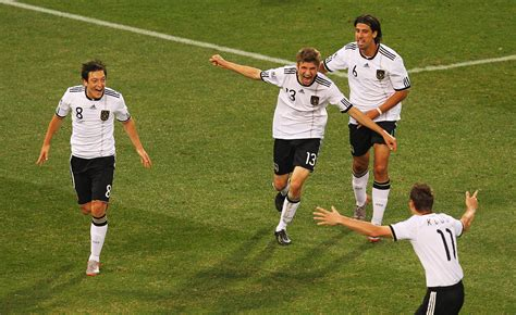 World Cup 2010 Germany vs Argentina