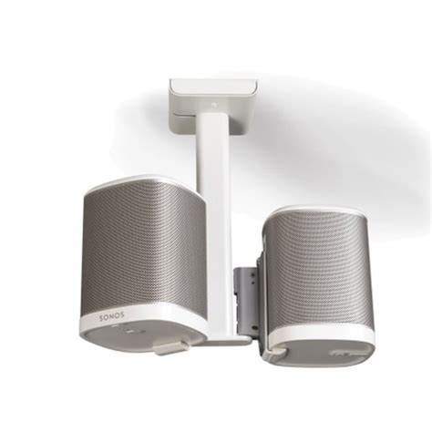 Sonos Ceiling Speakers by Flexson Ceiling Mount For 2 Sonos Play 1 Speakers Update