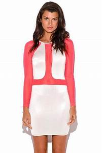 Bandage 4 Straps Mini Color Pink Bodycon Dress New