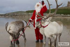 Pictures of Real Santa Claus and His Reindeer