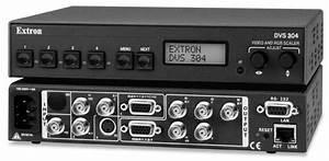 Four Input Video And Rgb Scaler Dvs 304 Manuals