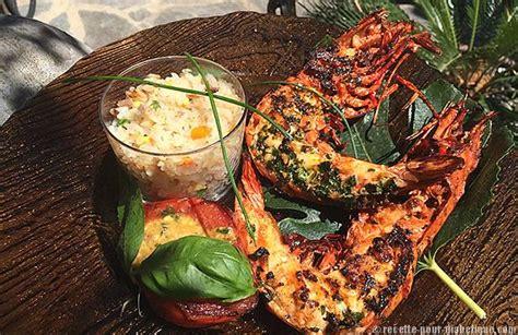 recettes de cuisine sans gluten gambas géantes à la plancha et riz cantonnais