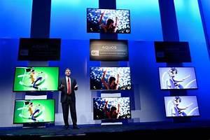 Tv 85 Zoll : ces 2014 sharp zeigt 85 zoll gro en ultra hd 8k tv mit 3d ohne brille ~ Watch28wear.com Haus und Dekorationen