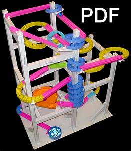 paper roller coaster these are so cool classroom With paper roller coaster template