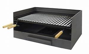 Barbecue A Poser : barbecue poser en fonte barbecue charbon de bois ~ Melissatoandfro.com Idées de Décoration