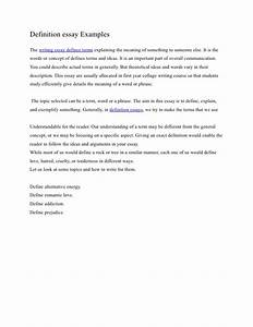 Definition Of Essay Examples Sir Gawain Essay Definition Of Love  Definition Of Love Essay Example Army Leadership Essay Book Report Service also Health Essay Example  Good Research Websites