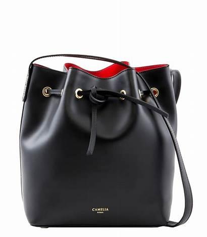 Bucket Leather Bag Bags Cameliaroma Roma Taeaeltae