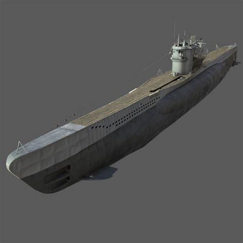 U Boat Model by 3d German Type Vii U Boat Model