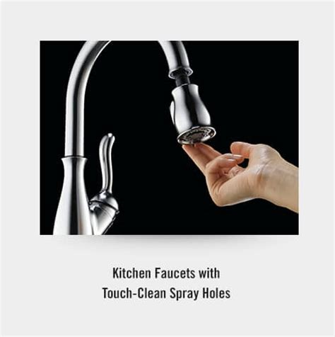 Easy Clean Shower & Faucet Face With Touchclean® Spray
