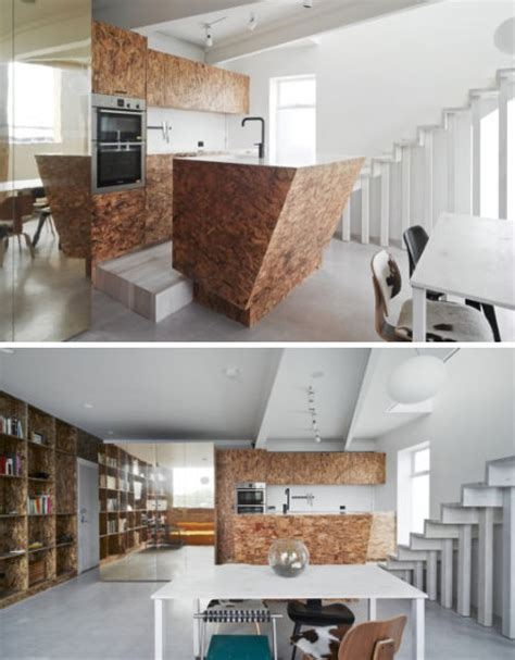 Fine Faux Finishes: Awesome Plywood & MDF Architecture