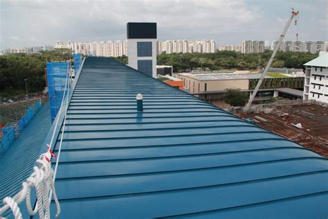 metal roofing singapore specialist