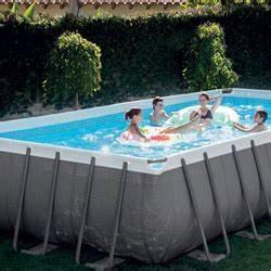 piscine hors sol intex tubulaire et autoportee piscine With piscine autoportee rectangulaire intex 1 photo piscine bois hawai