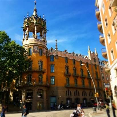 Gaudi Buildings Barcelona Antoni Known Well Amazing