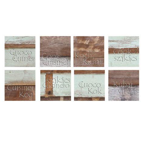 sticker carrelage cuisine stickers carrelages pour la cuisine effet bois usé avec