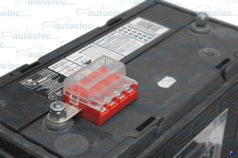Dual Battery Wiring Fuse Box by Blue Sea 5023 Terminal Battery Mount Fuse Block Box Marine