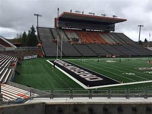 Reser Stadium Section 121 Row 20 Seat 10 Oregon State