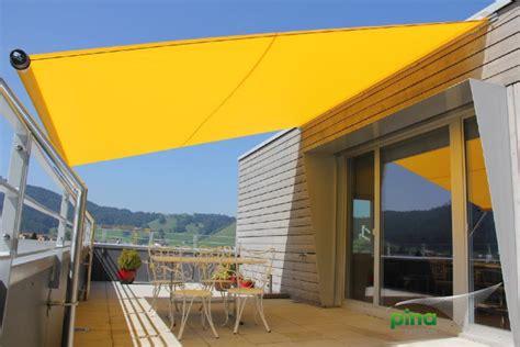 Sonnensegel Oder Markise by Sonnensegel Aufrollbar Der Exklusive Sonnenschutz Pina