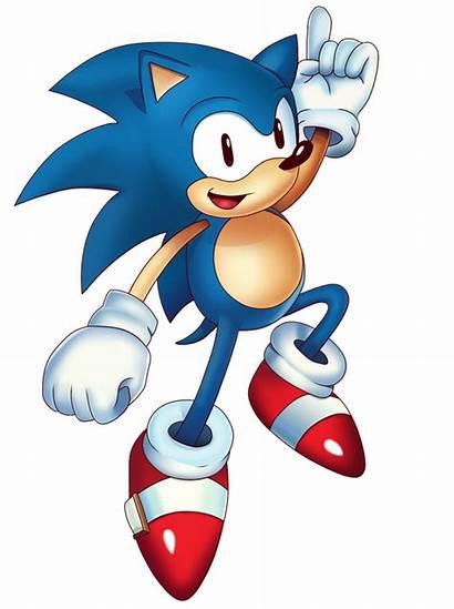Sonic Classic Different 1990s Looks 2000s Past