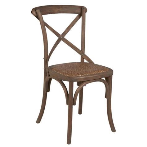 chaise bistrot rotin chaise bistrot en bois et rotin classique l 50