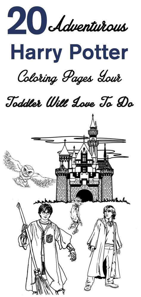 top   printable harry potter coloring pages