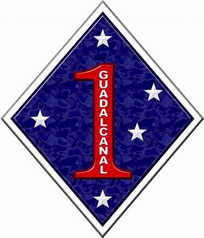 Marine Division 1st Insignia Wikipedia Svg