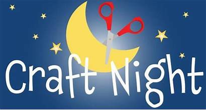 Craft Clipart Night Clip Parents Event Today