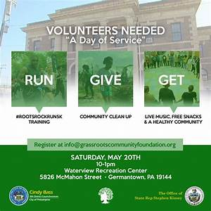 Volunteers Needed for Day of Service – GrassROOTS ...