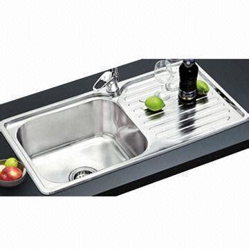 bowl kitchen sink with drainboard marvelous china high quality s s304 kitchen sink with 9612