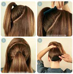 simple ponytail hairstyles on pinterest elegant ponytail
