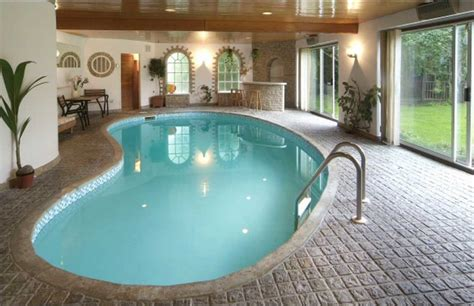 Modern Indoor Swimming Pools Design Ideas