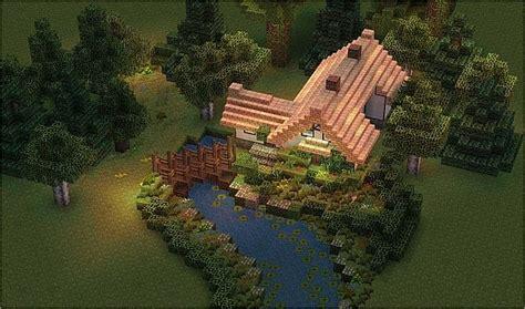 stream cottage minecraft map