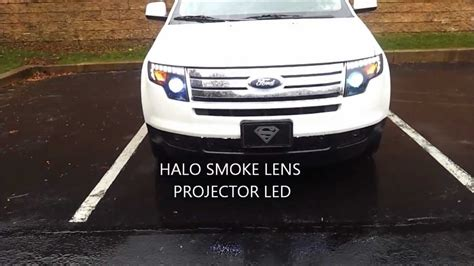 2010 ford edge halo headlight