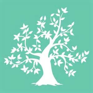 Tree Stencil Template