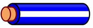 File Wire Blue White Stripe Svg