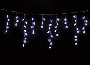 Guirlande Lumineuse Led Exterieur : guirlande lumineuse exterieur led rideau toiles 3 m ~ Melissatoandfro.com Idées de Décoration