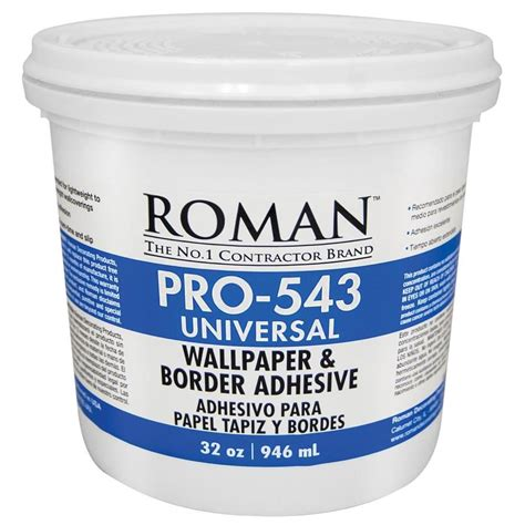 Shop Roman Pro543 32oz Liquid Wallpaper Adhesive At