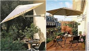 Wand Sonnenschirm Schwenkbar : mit diesen tipps wird ihr kleiner balkon zur wohlf hloase umgestaltet ~ Markanthonyermac.com Haus und Dekorationen