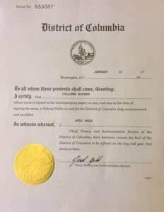 apostille embassy legalization services washington dc With document authentication services washington dc