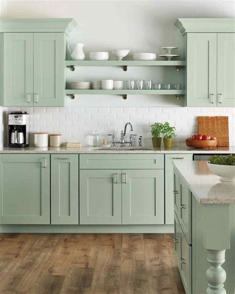 select  kitchen style home depot kitchen green